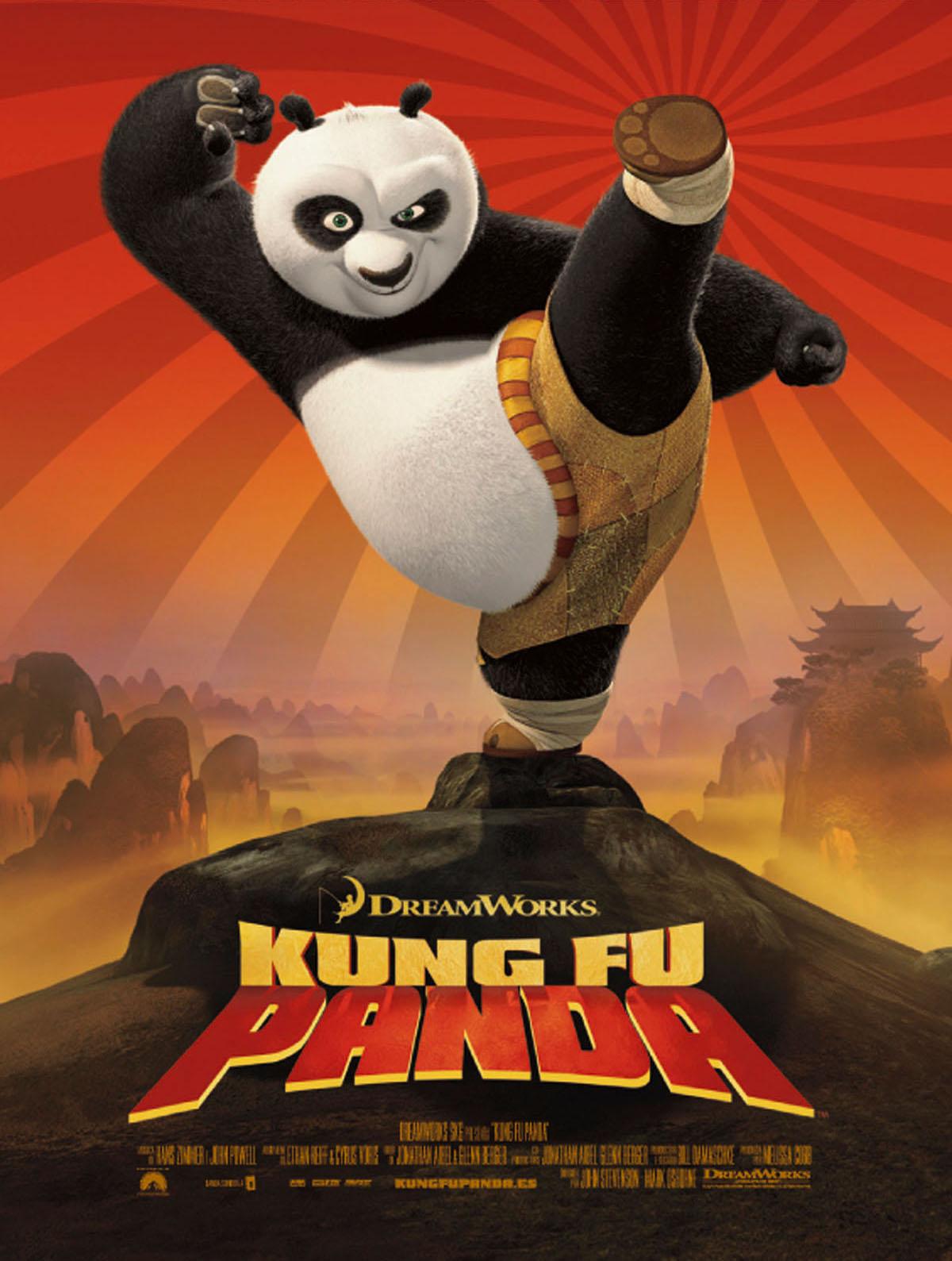 Resultado de imagen de portada de kung fu panda