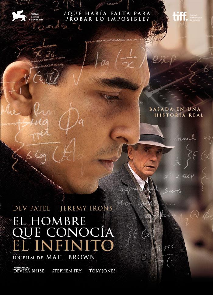 El Hombre Que Conocia El Infinito (2015) [DVDRip] [Latino] [1 Link] [MEGA]