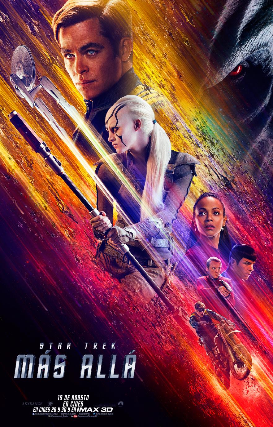 Cartel De Star Trek: Más Allá