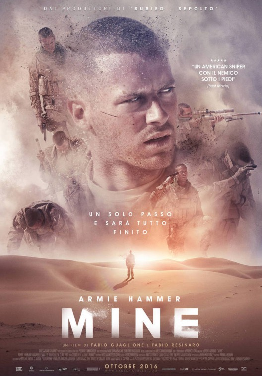 poster pelicula mine