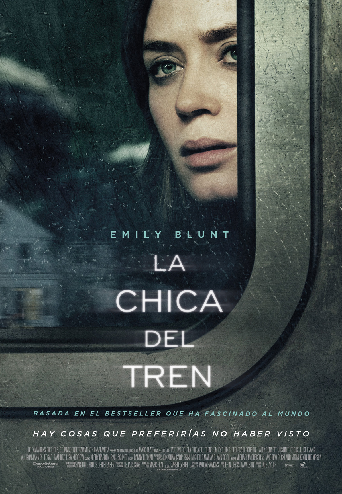 La Chica Del Tren|2016|DVDCustom-HD|Latino Final