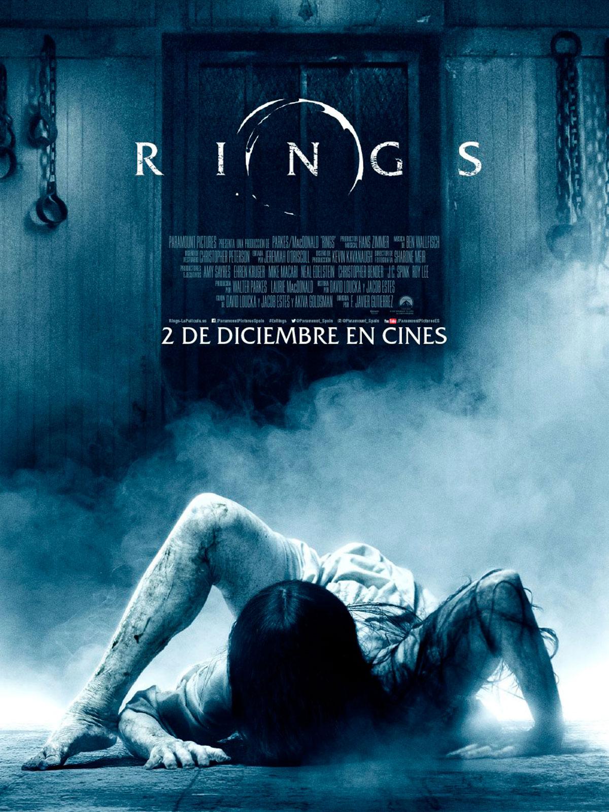 Скачать фильм Звонки  Rings 2017 через торрент