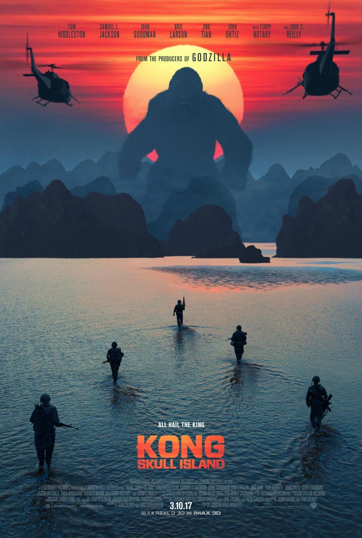 cartel de kong la isla calavera poster sensacinecom
