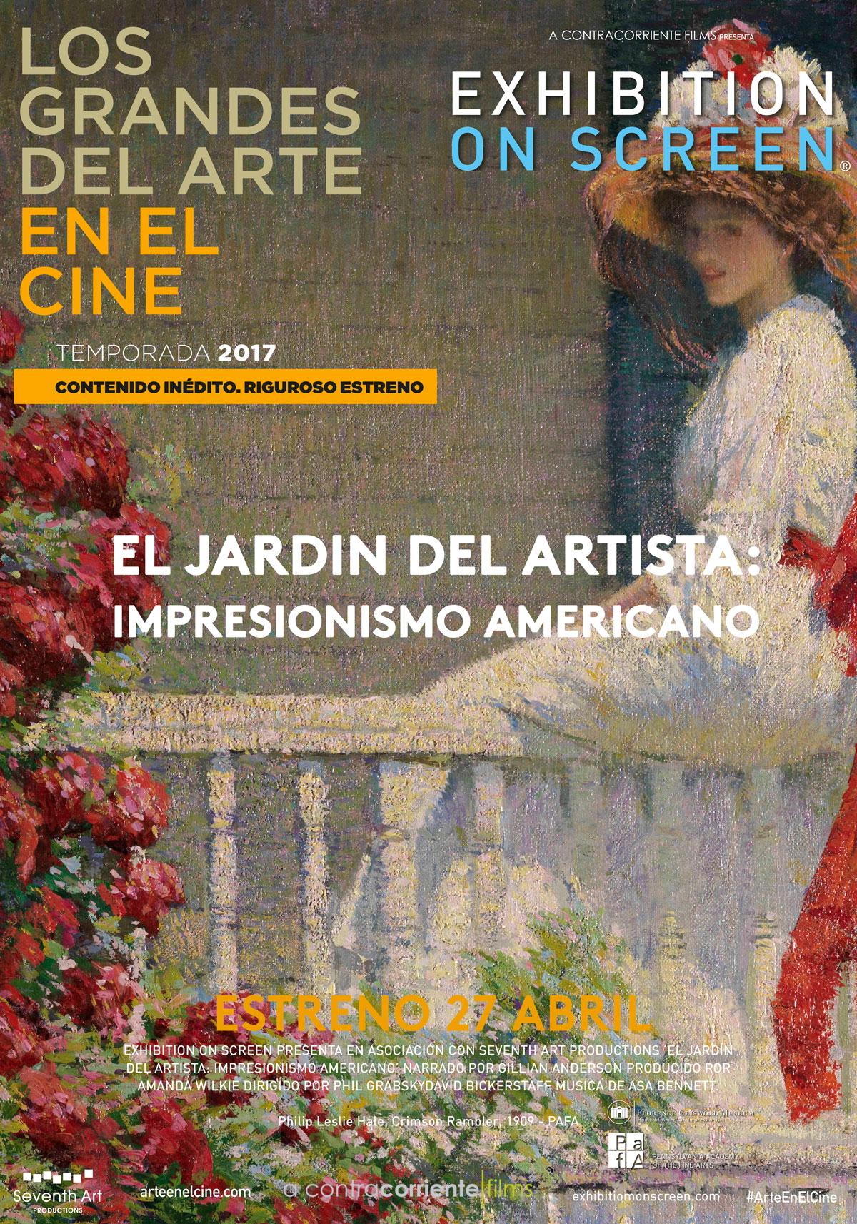 El jard n del artista impresionismo americano pel cula for El jardin del deseo pendientes