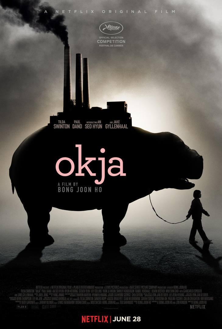 Resultado de imagen de okja poster