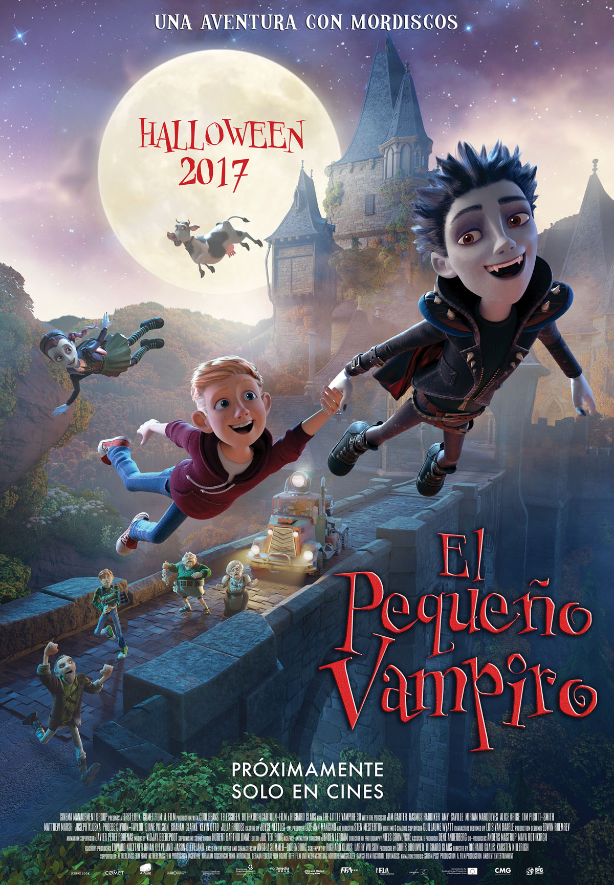 El peque o vampiro pel cula 2017 for El mural pelicula descargar