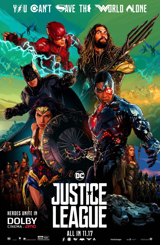 Liga De La Justicia (2017) [DVDRip] [Subtitulada] [1 Link] [MEGA]