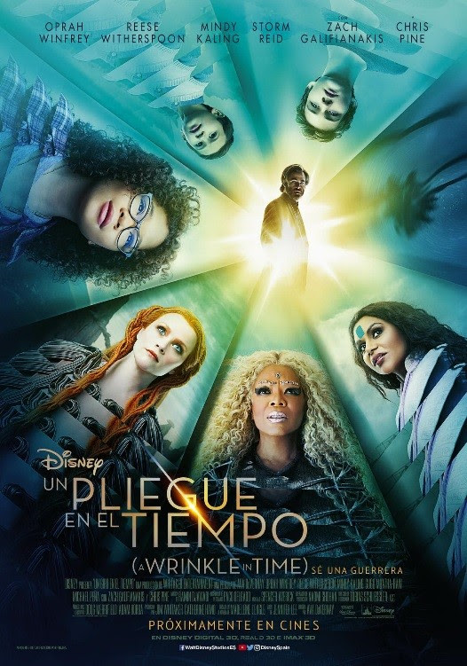 Un Pliegue En El Tiempo A Wrinkle In Time Película 2018 Sensacine Com