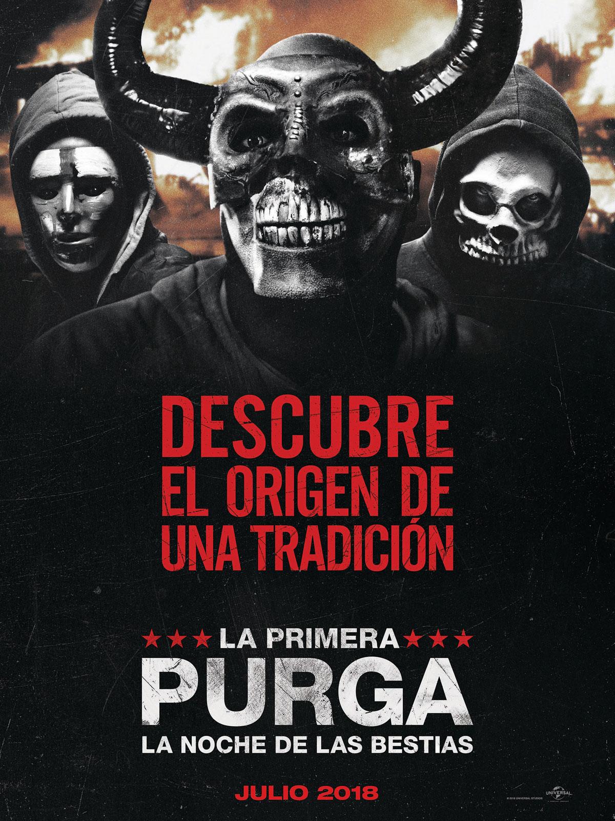 La Primera Purga La Noche De Las Bestias Película 2018 Sensacine Com