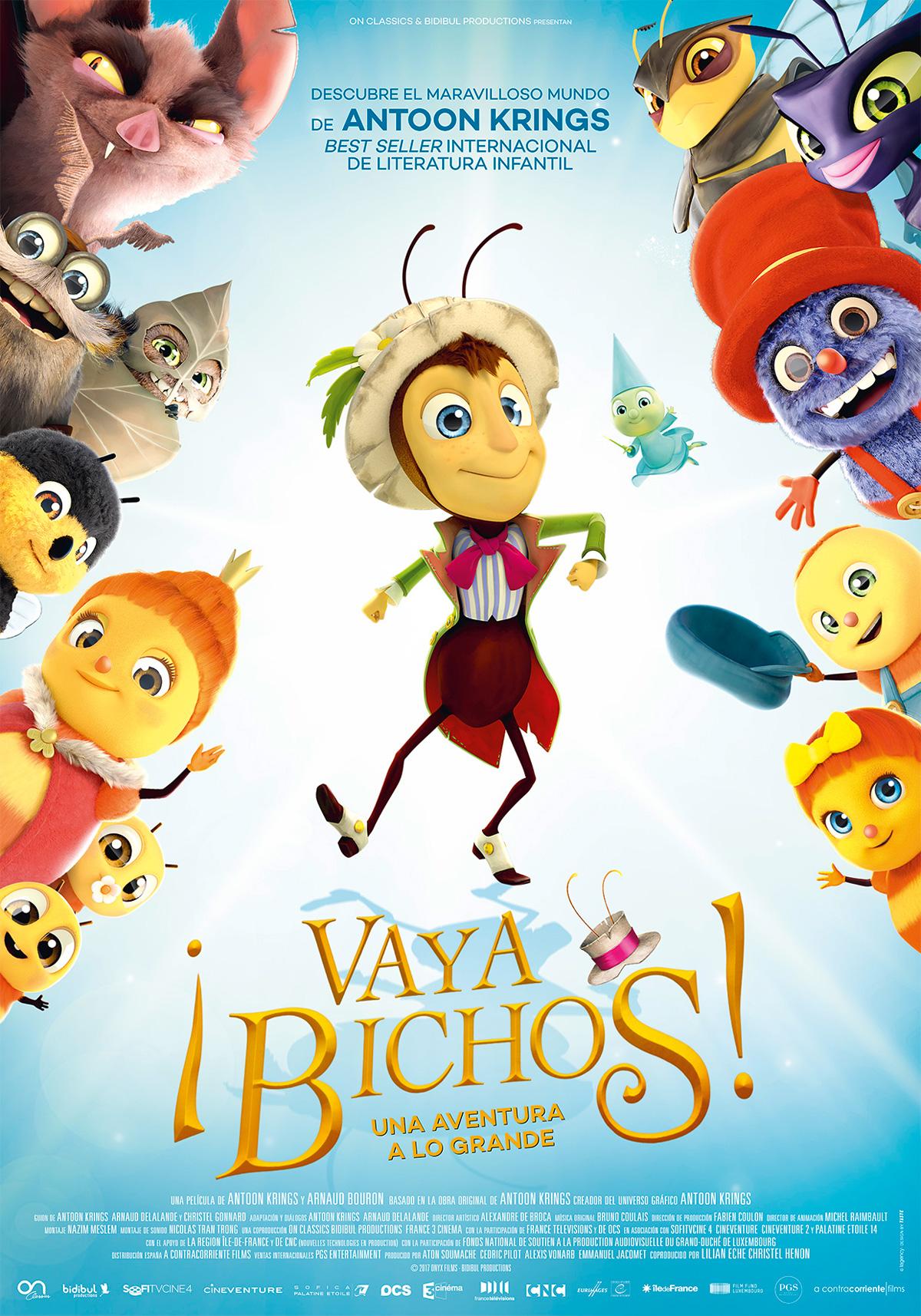 Cartel de ¡Vaya bichos! - Poster 1 - SensaCine.com
