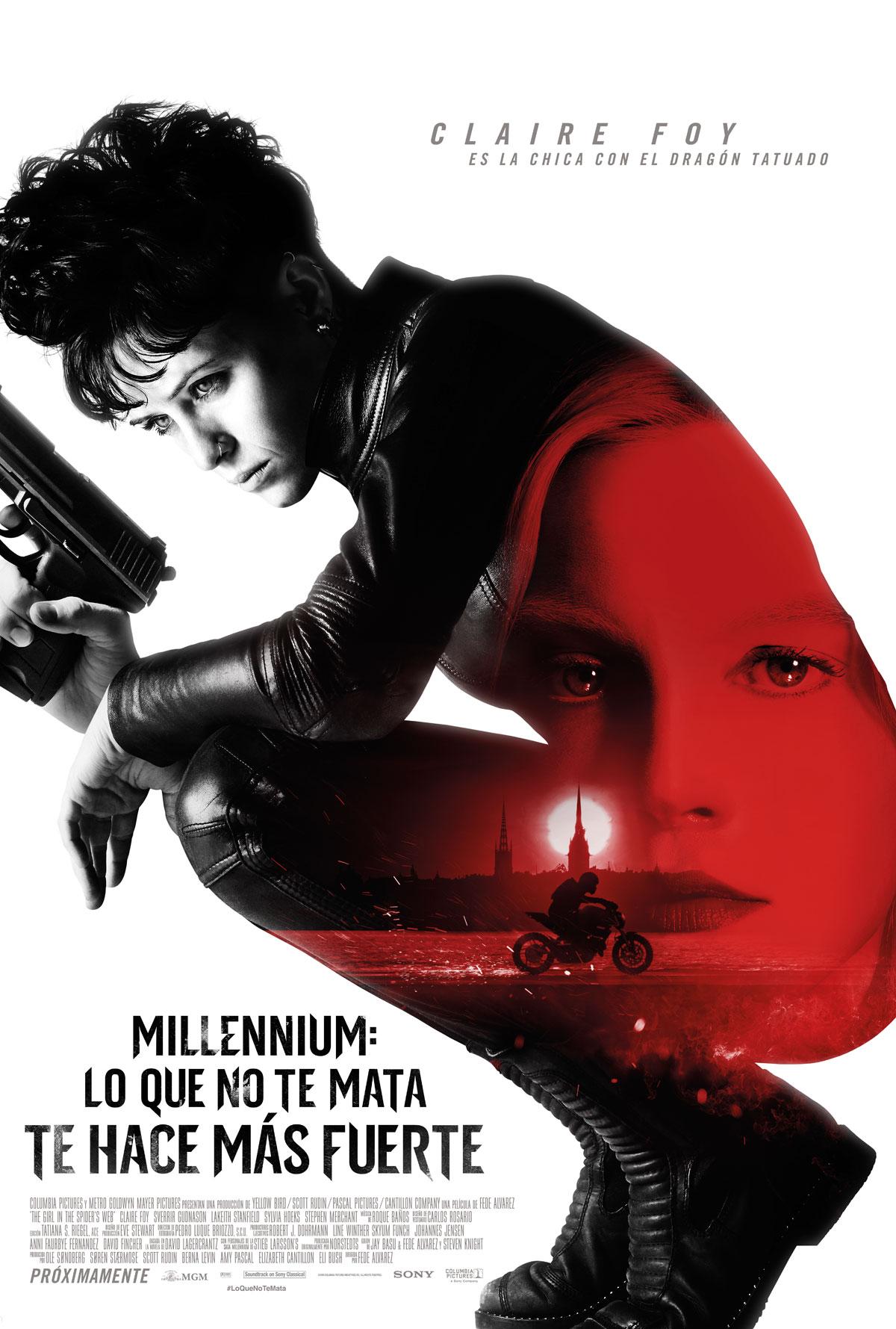 Millennium: Lo que no te mata te hace más fuerte - Película 2018 ...