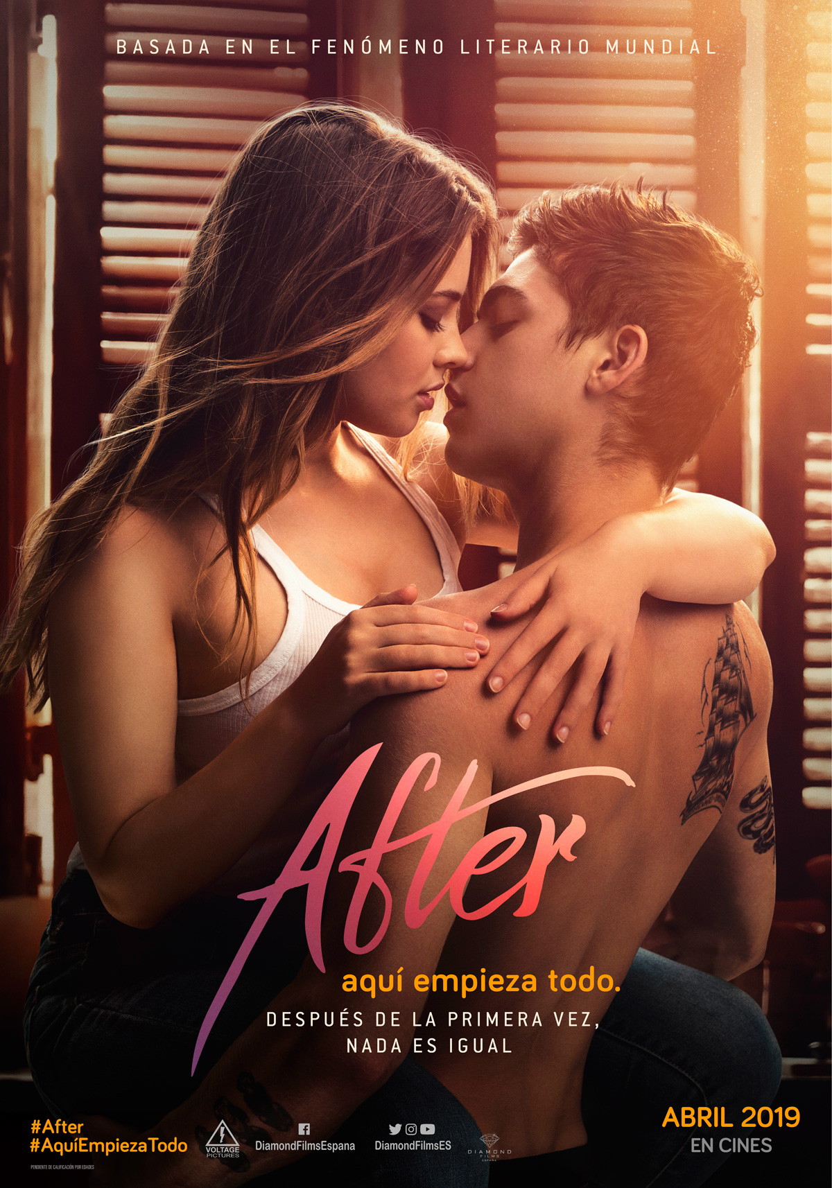 After: Aquí empieza todo (2019) | DVDRip Latino HD GoogleDrive 1 Link