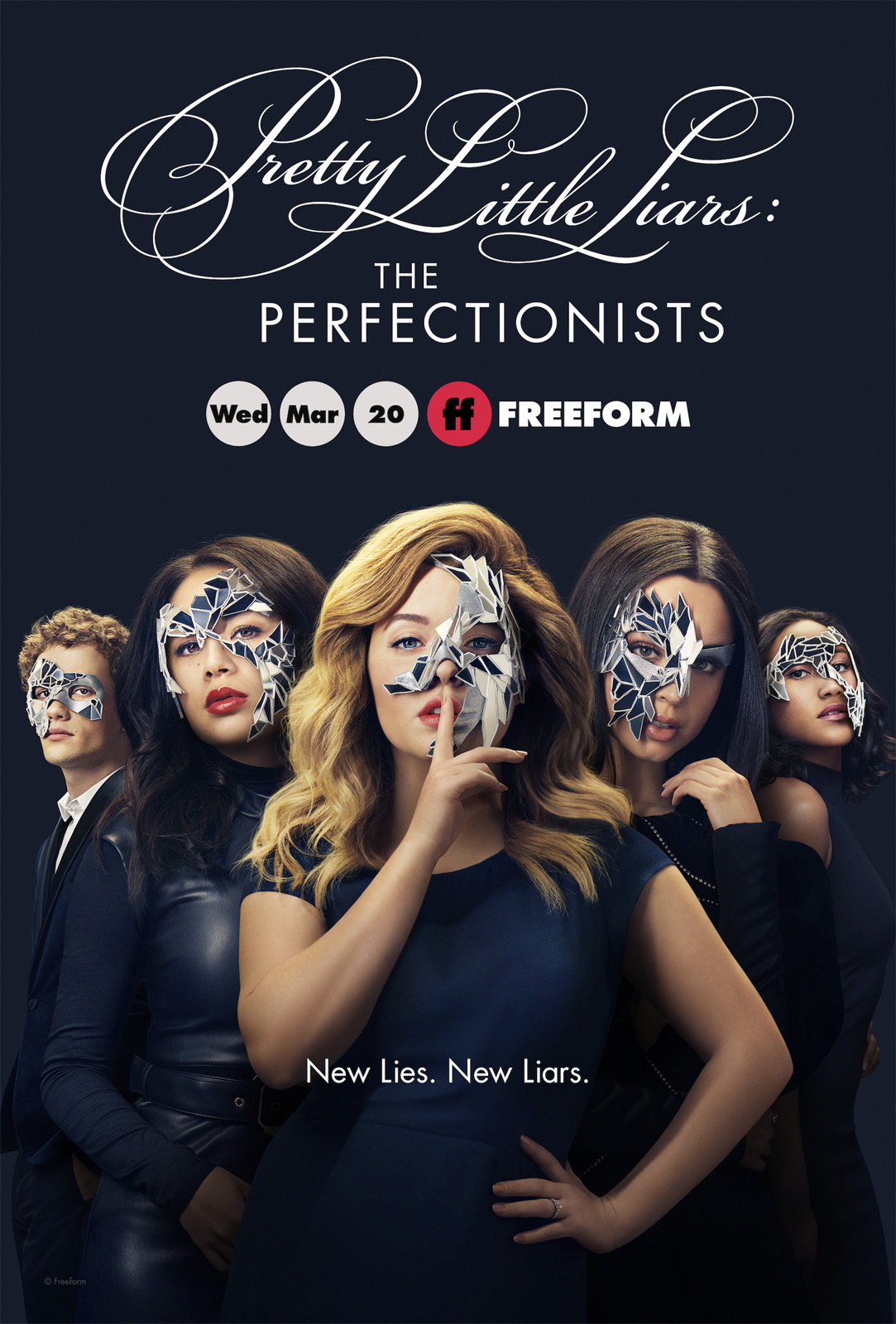 Peque&ntildeas mentirosas: Perfeccionistas 1x01 Espa&ntildeol Disponible