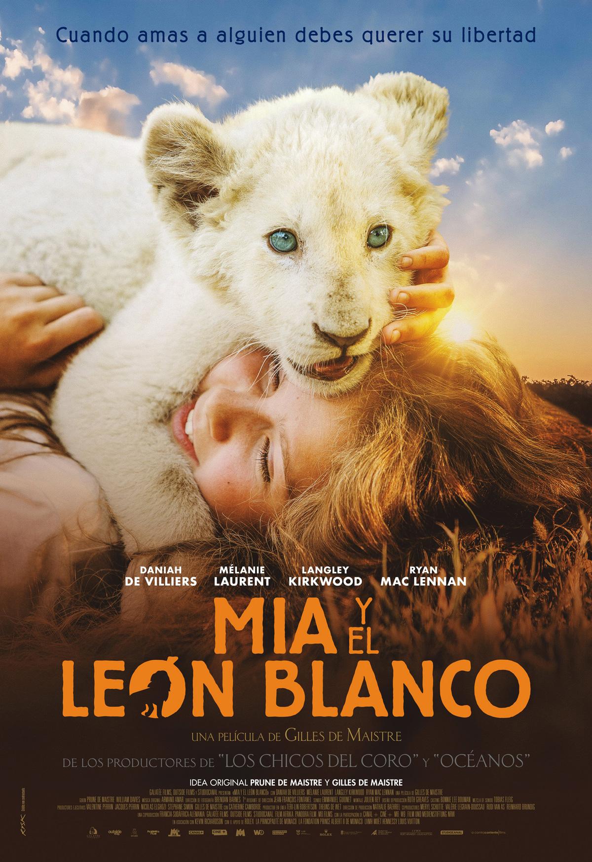 Resultado de imagen de mia y el leon blanco