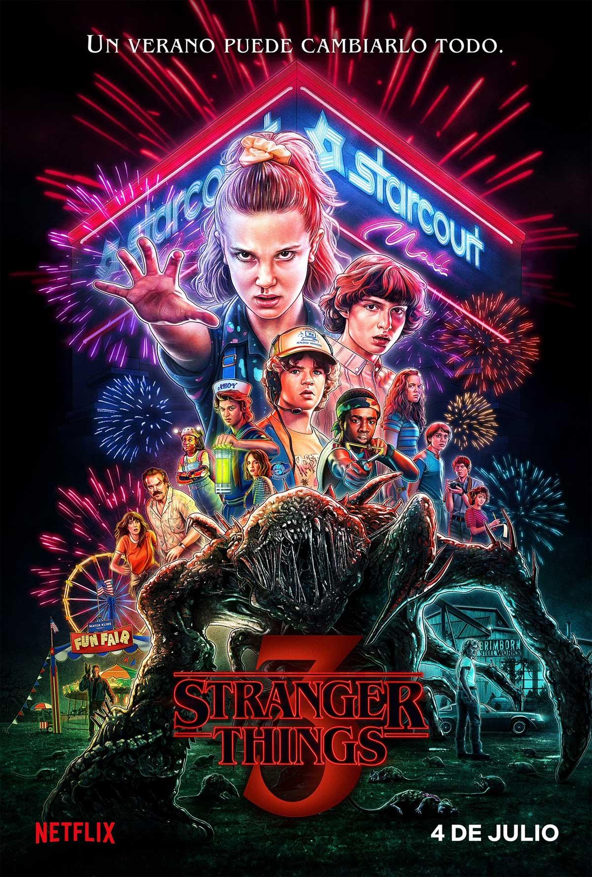 Serie Strange Things