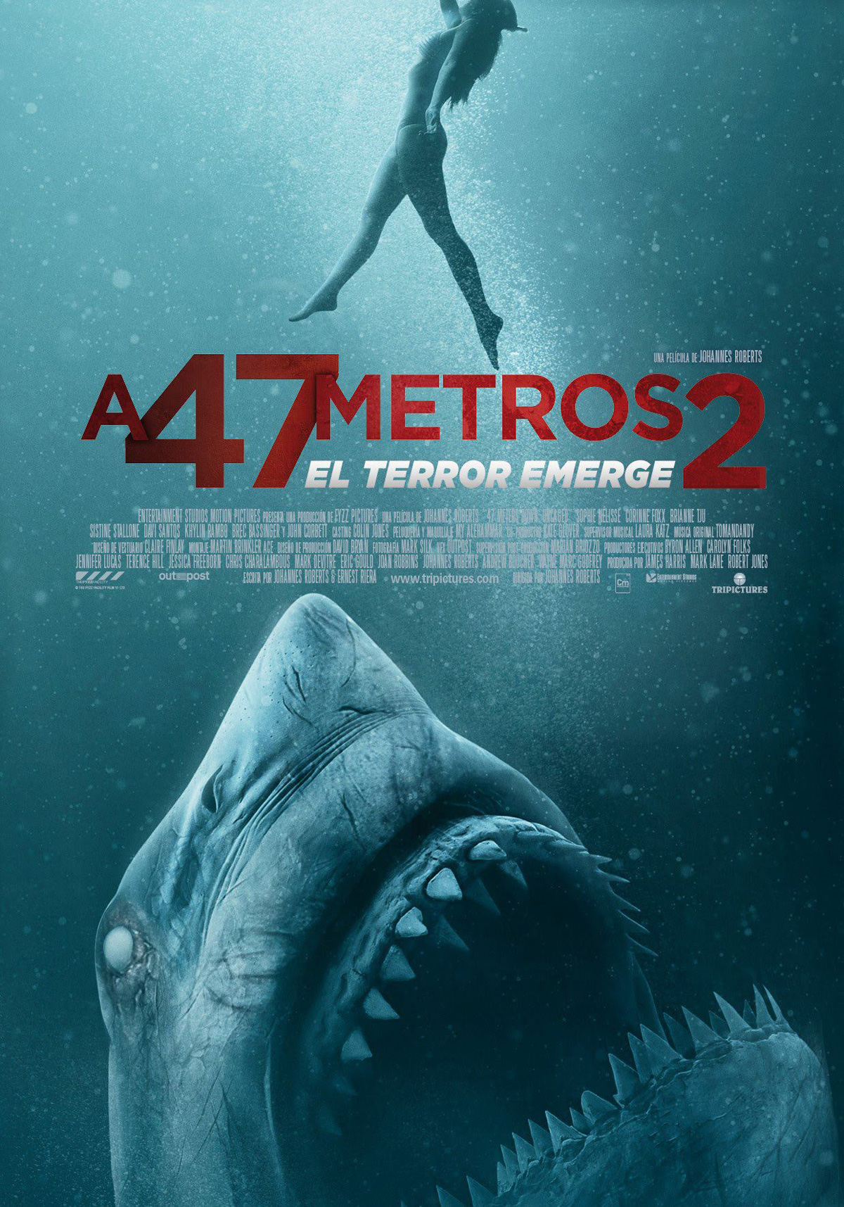 A 47 Metros 2 El Terror Emerge Película 2018 Sensacine Com