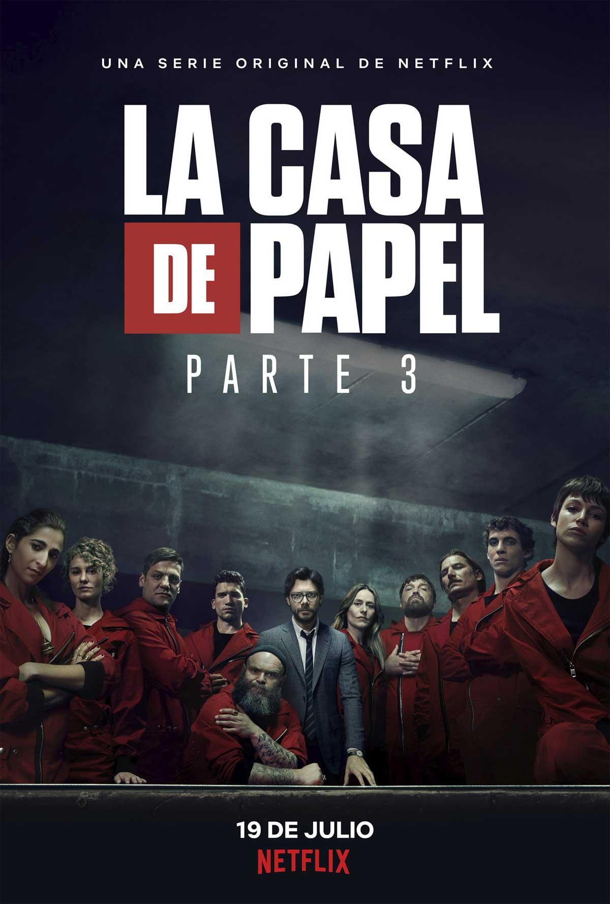 La Casa De Papel Temporada 3 Online