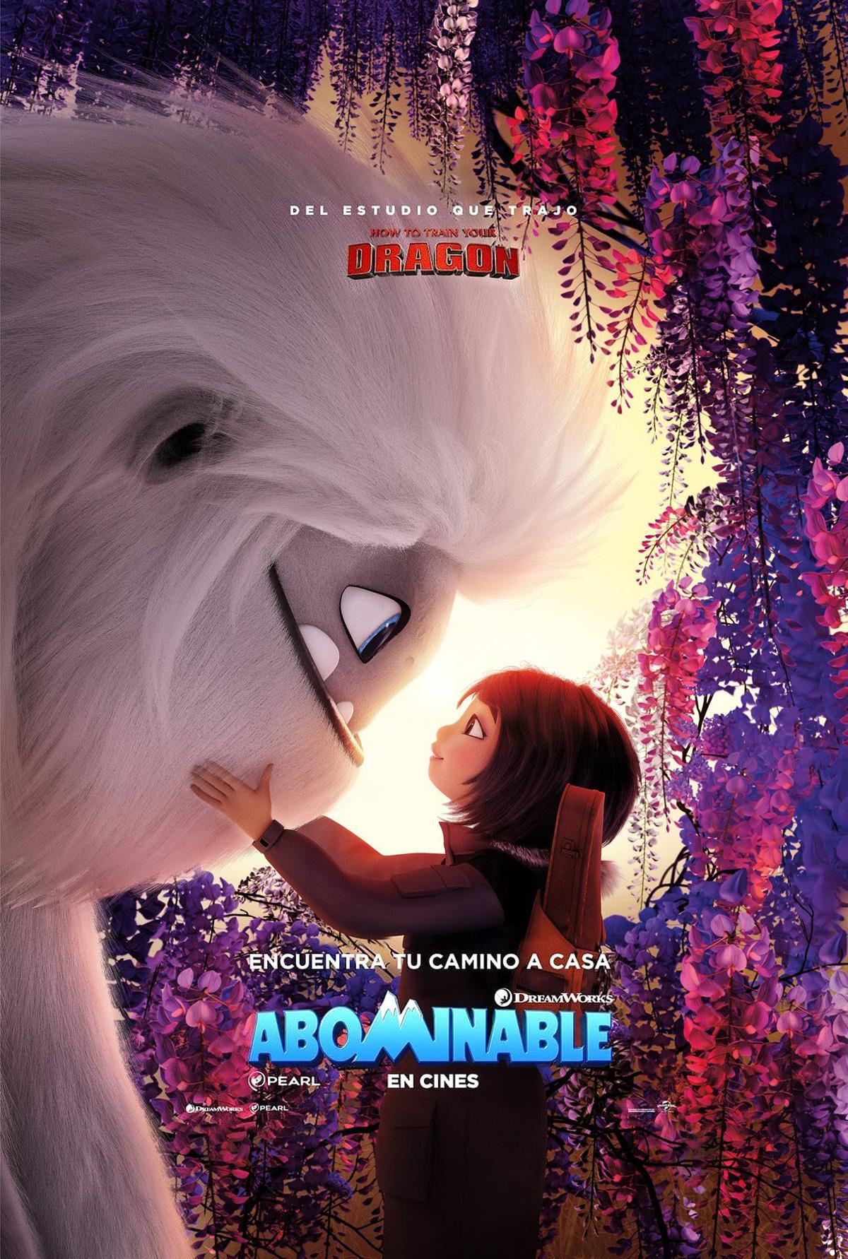 Resultado de imagen de abominable spanish poster