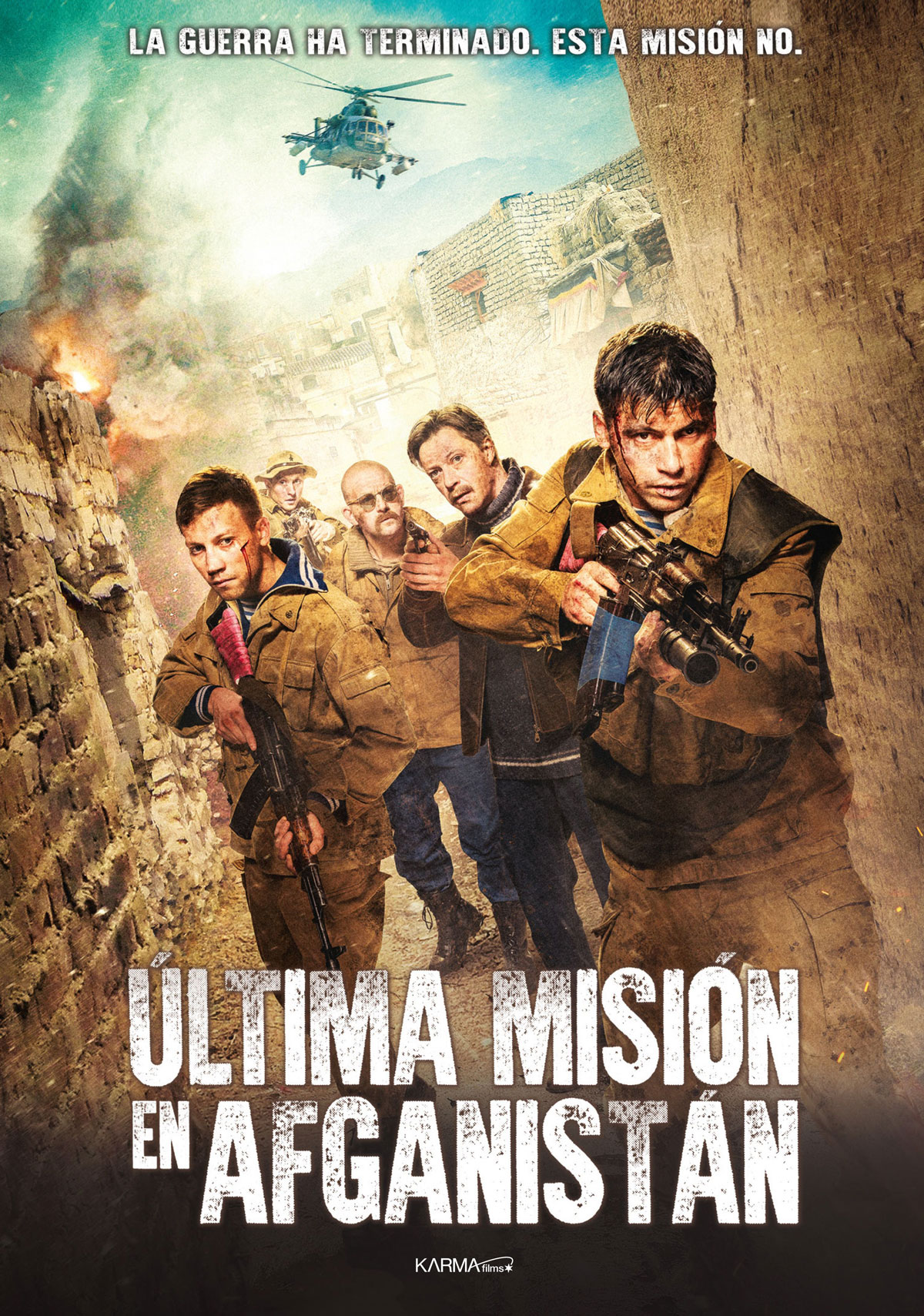 Última misión en Afganistán - Película 2019 - SensaCine.com