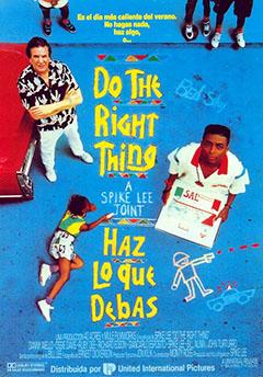 Haz Lo Que Debas Película 1989 Sensacine Com