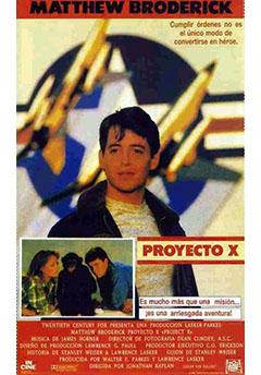 Proyecto X Película 1987 Sensacine Com