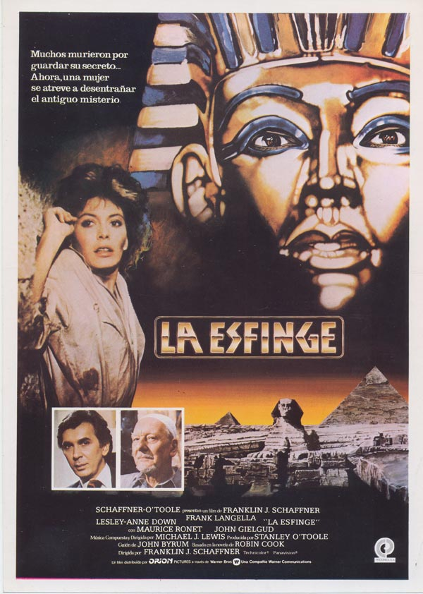 La esfinge pel cula 1981 for Banda sonora de el jardin secreto