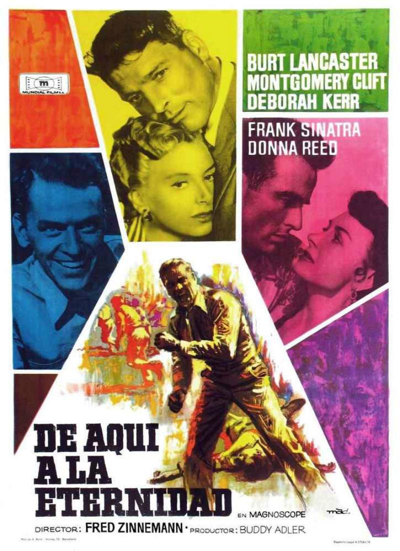 De Aquí A La Eternidad Película 1953 Sensacine Com