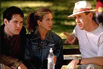 Mucho más que amigos : Foto Jennifer Aniston, Nicholas Hytner, Paul Rudd