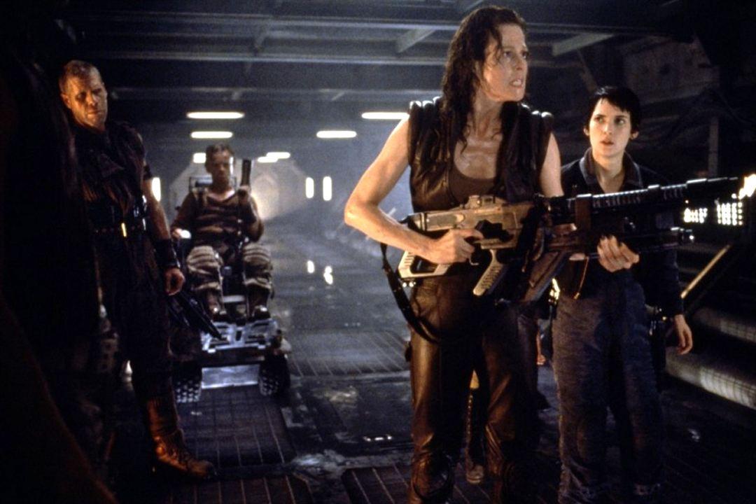 Alien: Resurrección : Foto Ron Perlman, Sigourney Weaver, Winona Ryder