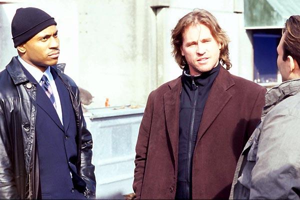 Cazadores de mentes : Foto Christian Slater, LL Cool J, Renny Harlin, Val Kilmer