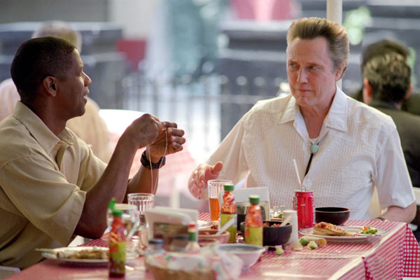 El fuego de la venganza : Foto Christopher Walken, Denzel Washington