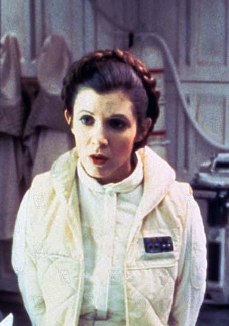 Star Wars : Episodio V - El imperio contraataca : Foto Carrie Fisher, Irvin Kershner