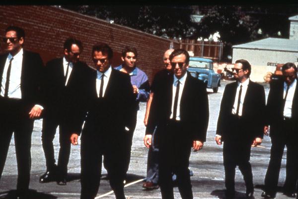 Reservoir Dogs : Foto Chris Penn, Edward Bunker, Harvey Keitel, Michael Madsen, Steve Buscemi