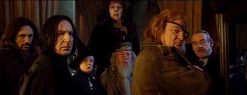 Harry Potter y el Cáliz de Fuego : Foto Alan Rickman, Brendan Gleeson, Frances de la Tour, Maggie Smith, Michael Gambon