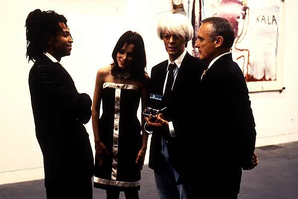 Basquiat : Foto Claire Forlani, David Bowie, Dennis Hopper, Jeffrey Wright, Parker Posey