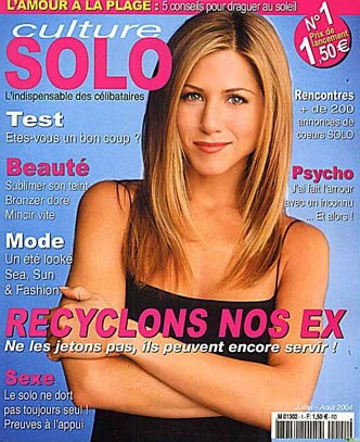 Friends : Couverture magazine Jennifer Aniston