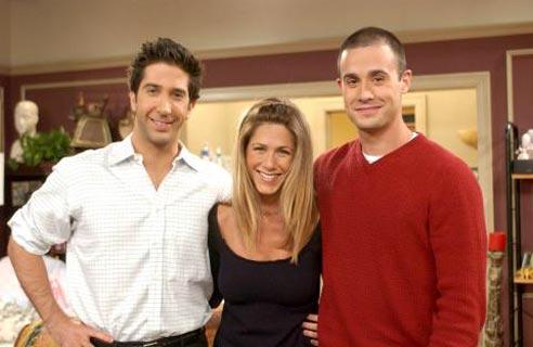 Friends : Foto David Schwimmer, Freddie Prinze Jr., Jennifer Aniston