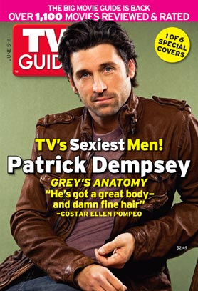 Anatomía de Grey : Couverture magazine Patrick Dempsey