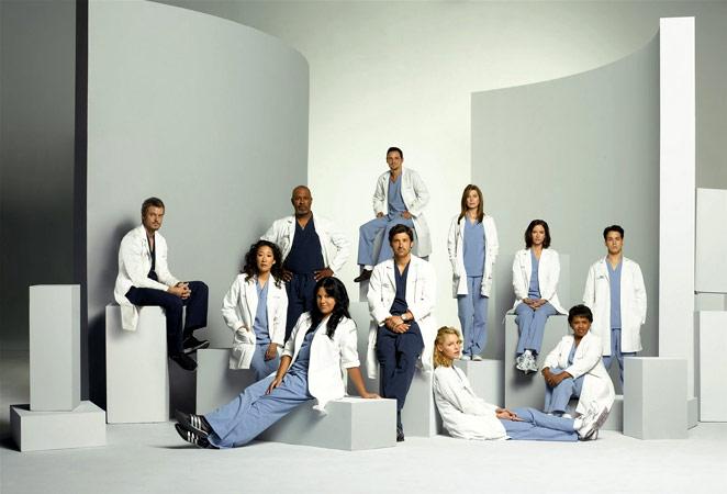 Anatomía de Grey : Foto Chandra Wilson, Chyler Leigh, Ellen Pompeo, Eric Dane, James Pickens Jr.