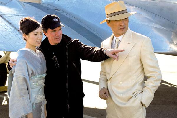 Memorias de una geisha : Foto Ken Watanabe, Rob Marshall, Zhang Ziyi
