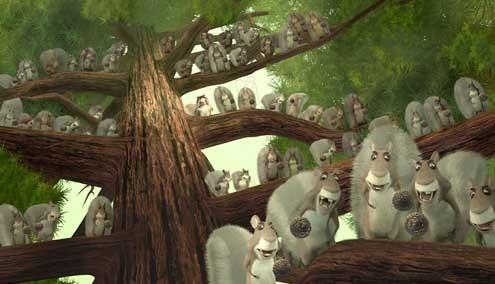 Colegas en el bosque : Foto Jill Culton