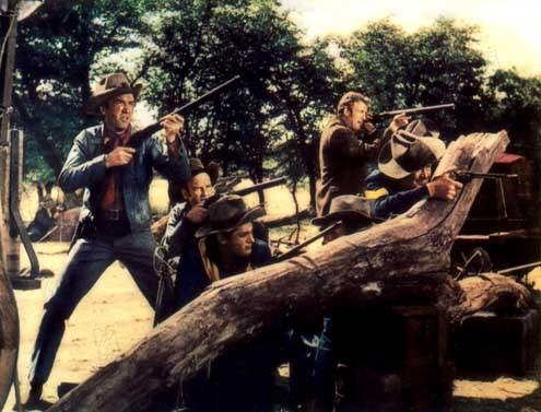 Winchester 73 : Foto Anthony Mann, Dan Duryea, James Stewart, Tony Curtis