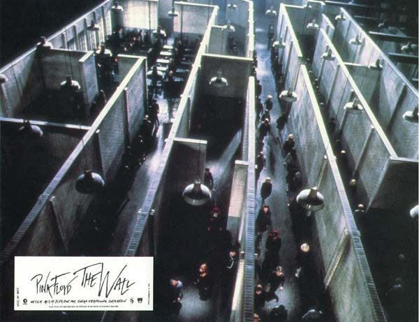 Pink Floyd The Wall : Foto Alan Parker