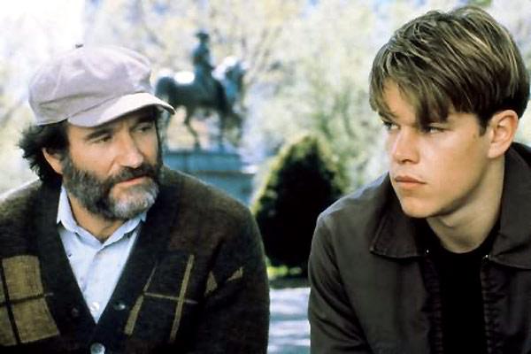 El indomable Will Hunting : Foto Gus Van Sant, Matt Damon, Robin Williams