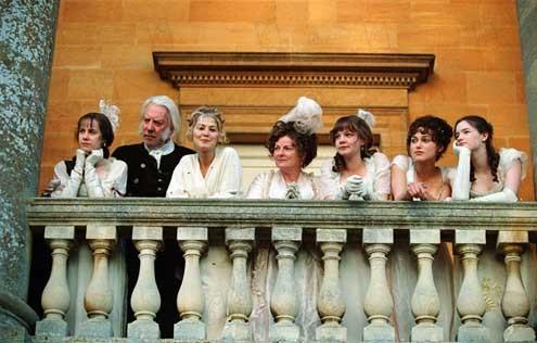 Pride and Prejudice (Orgullo y prejuicio): Rosamund Pike, Brenda Blethyn, Talulah Riley, Jena Malone, Donald Sutherland
