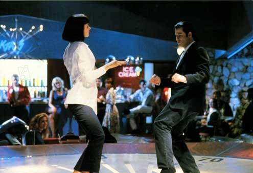 Pulp Fiction : Foto John Travolta, Uma Thurman