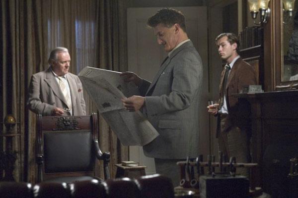 Todos los hombres del rey : Foto Anthony Hopkins, Jude Law, Sean Penn, Steven Zaillian