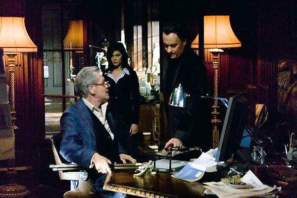 El código Da Vinci : Foto Audrey Tautou, Ian McKellen, Ron Howard, Tom Hanks