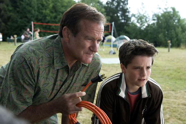 ¡Vaya vacaciones! : Foto Josh Hutcherson, Robin Williams