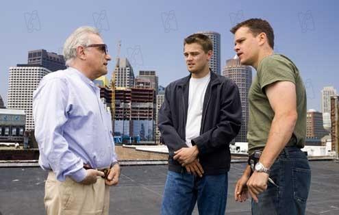 Infiltrados : Foto Leonardo DiCaprio, Martin Scorsese, Matt Damon